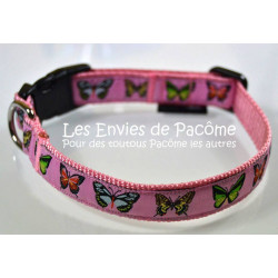 Collier S papillons