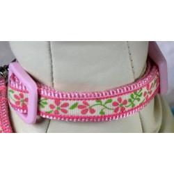 Petit collier rose printanier