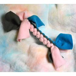 Jouet Tug gris rose bleu