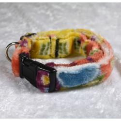 Collier à clips douceur coloré