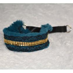 Collier martingale bleu...